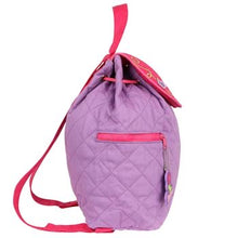 Load image into Gallery viewer, Ballet Shoes Quilted Backpack