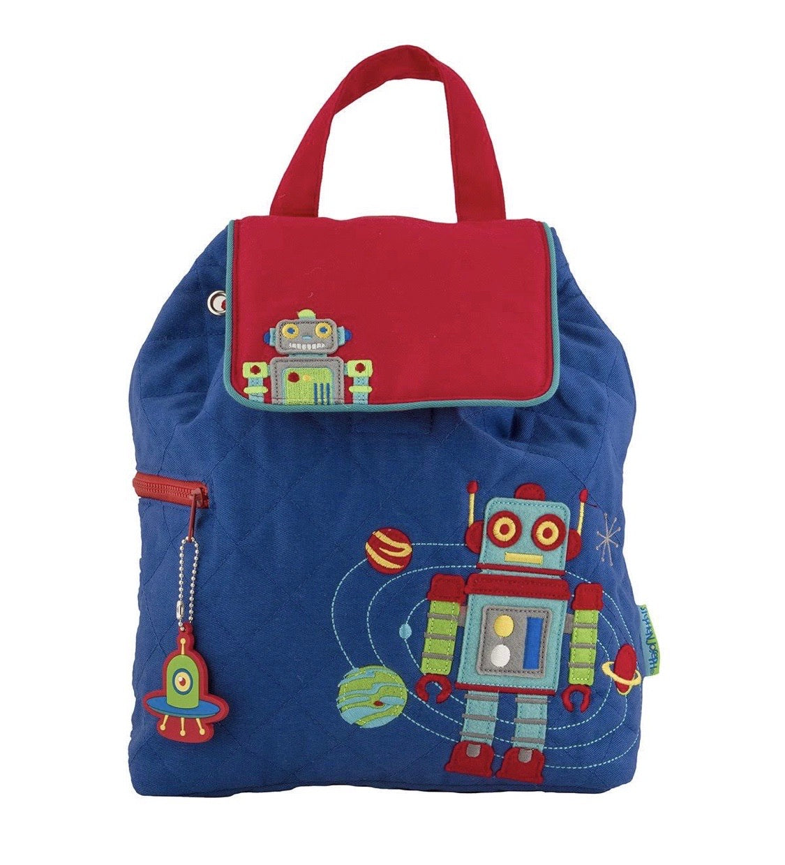 Robot Quilted Backpack