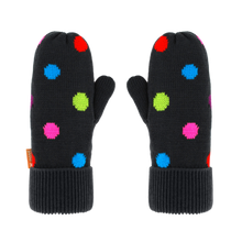 Load image into Gallery viewer, Kids Polka Dot Mittens