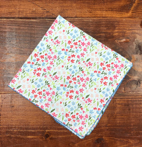 Sweet Flowers Printed Napkin