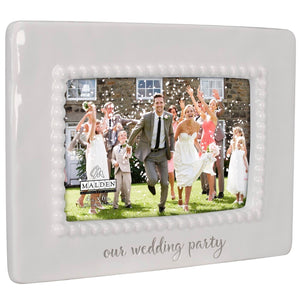 Our Wedding Party Frame