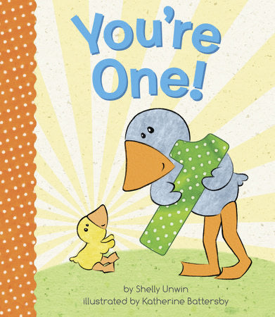You're One! Board Book