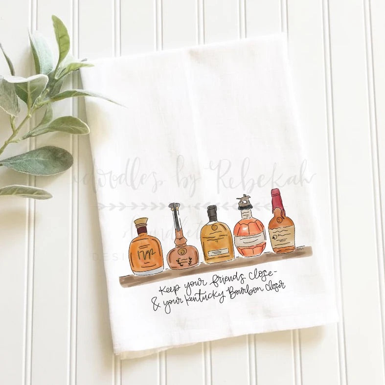 Bourbon Closer Tea Towel