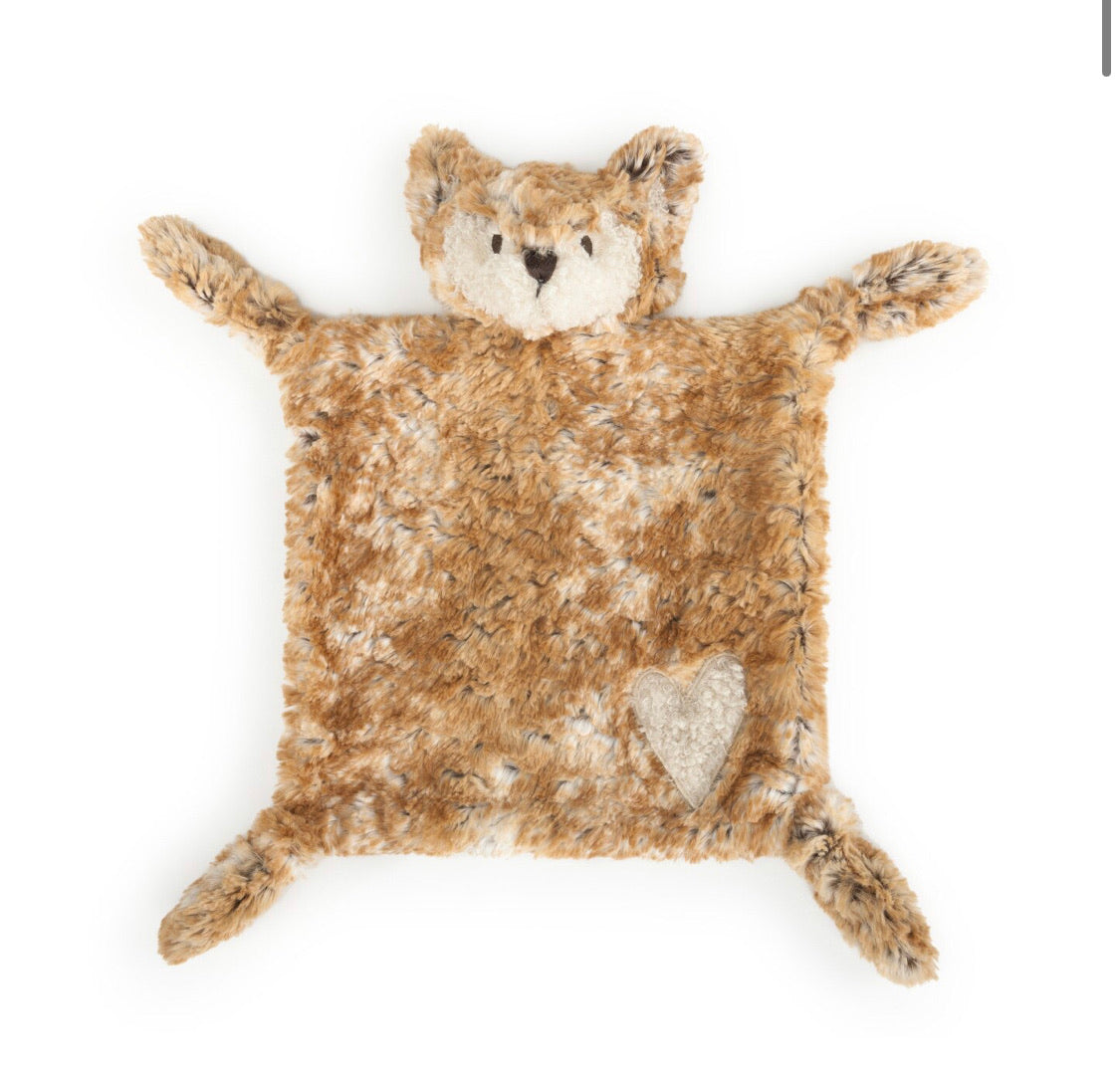 Woodland Rattle Blankie