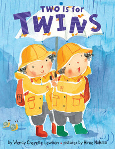 Two is for Twins Board Book