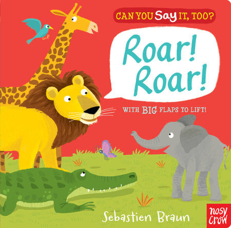 Roar! Roar! Board Book
