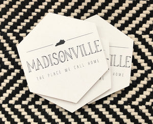 Madisonville-Place We Call Home Coasters
