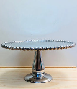 Beaded Cake Stand - Small