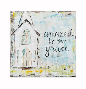 Amazed By Your Grace Canvas