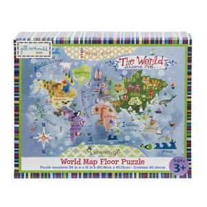 World Around Me Map Floor Puzzle