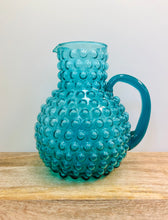 Load image into Gallery viewer, Hobnail Glass Pitcher