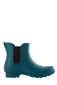 Chelsea Teal Rain Boot- Ladies