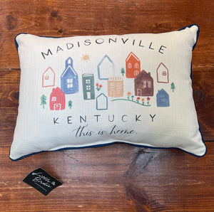 City This is Home Pillow