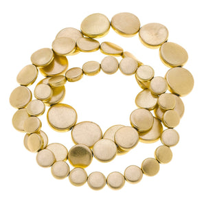 Helena Disc Bead Stretch Bracelet