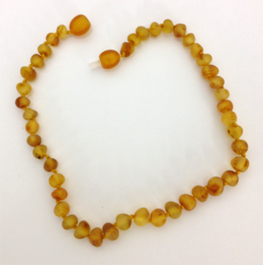"10 1/2"" Baltic Amber Necklace"