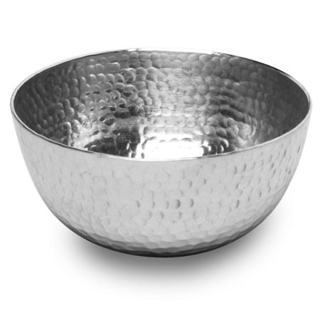 Hammered Round Bowl