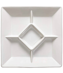 Cook & Host Square Appetizer Tray - White