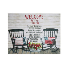 Load image into Gallery viewer, Welcome to the Porch Sign