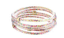 Load image into Gallery viewer, Glitter Filled Bangles Set