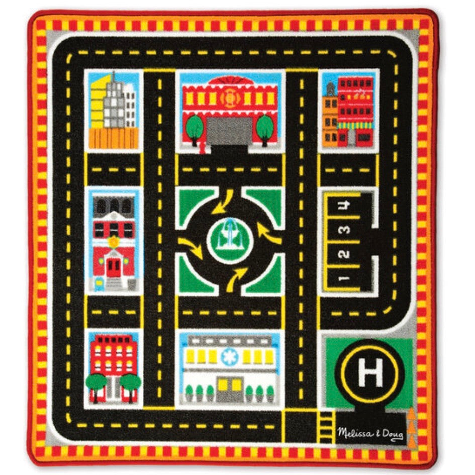 Round the City Rescue Rug