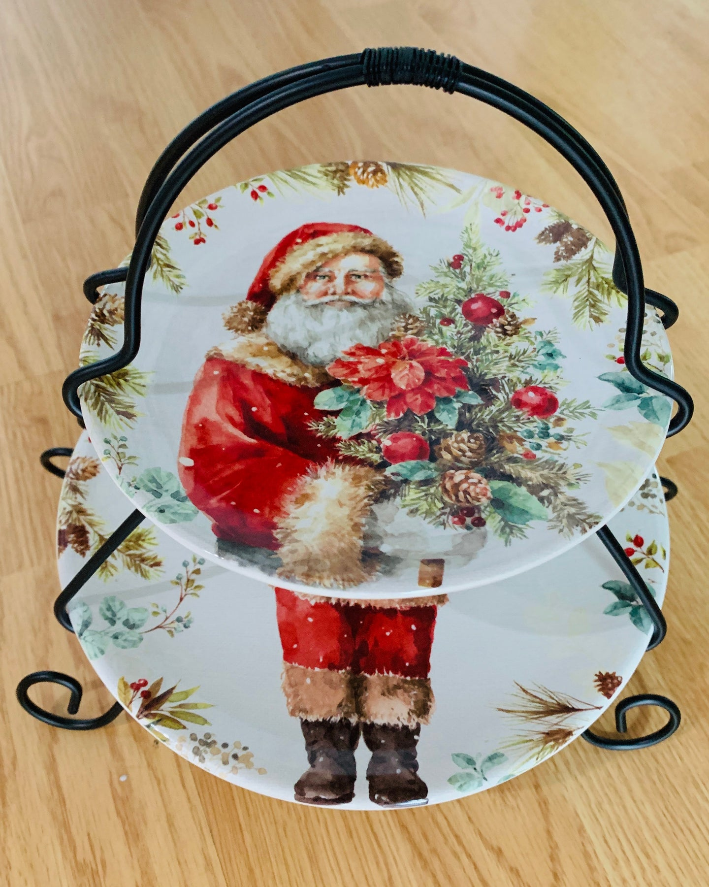 A Christmas Story 2 Tier Server and Plates