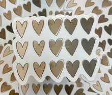 Load image into Gallery viewer, Ombré Hearts Sticker