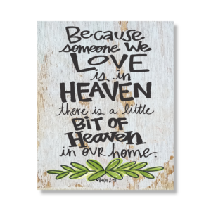 Heaven 8x10 Canvas