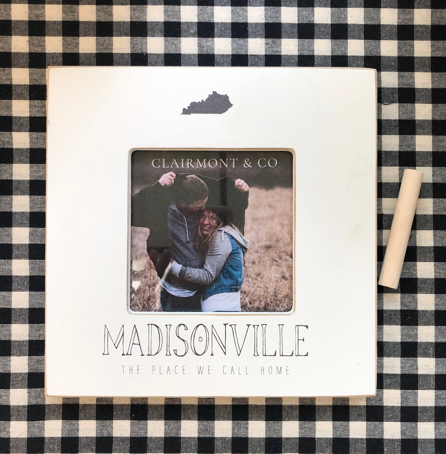 Madisonville-Place We Call Home Frame