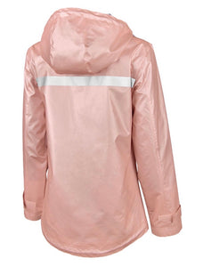 Rose Gold Rain-Jacket
