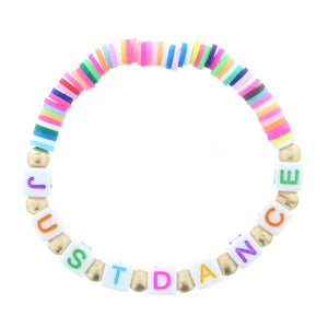 Kids Multi Rubber Disk Bracelet