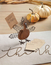 Load image into Gallery viewer, Thankful Turkey Card Holder
