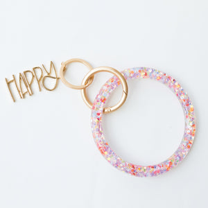 Happy Keyring Bracelet