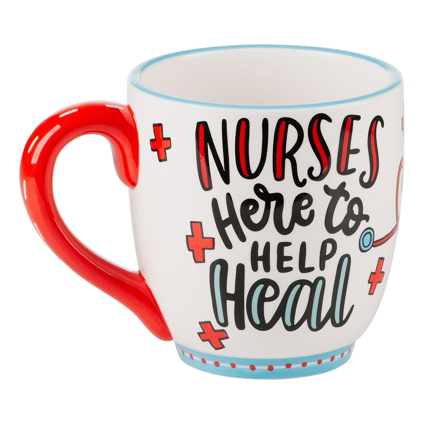 Nurses Here to Heal Mug