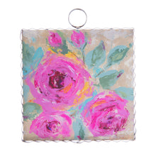 Load image into Gallery viewer, Mini Bouquet of Pink Roses Charm