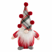 Load image into Gallery viewer, Small Christmas Gnome Sitter