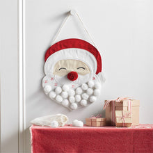 Load image into Gallery viewer, Santa Pom Countdown Hanger