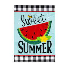 Sweet Summer Watermelon Flag