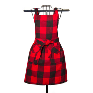 Buffalo Check Apron