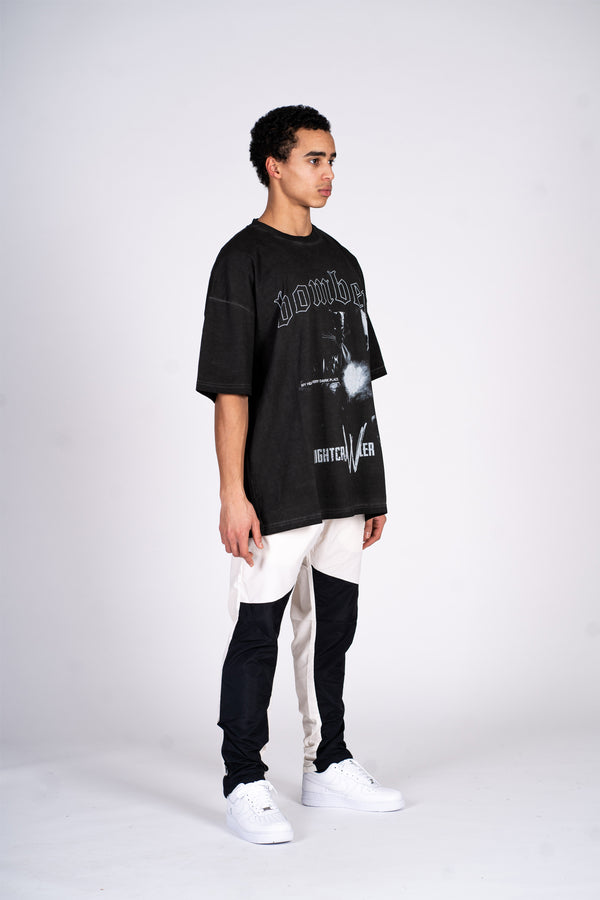 NOCTURNAL T-SHIRT - VINTAGE BLACK