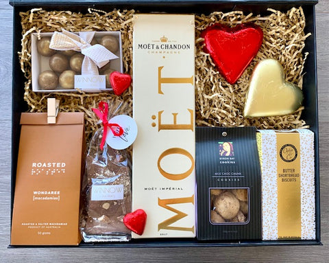 Champagne Gourmet Gift Hamper - The Hamper Collective Australia