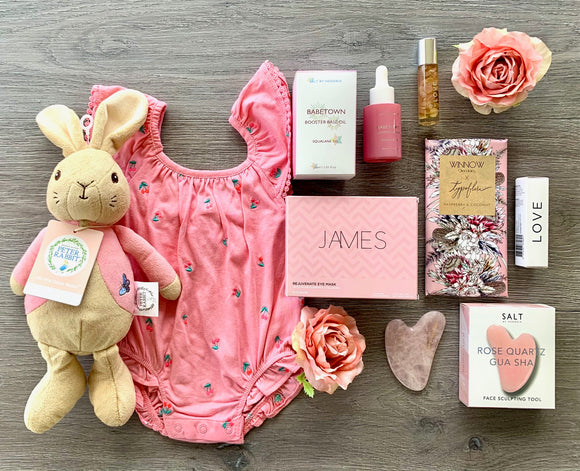 New Mama And Baby Girl Pamper Hamper