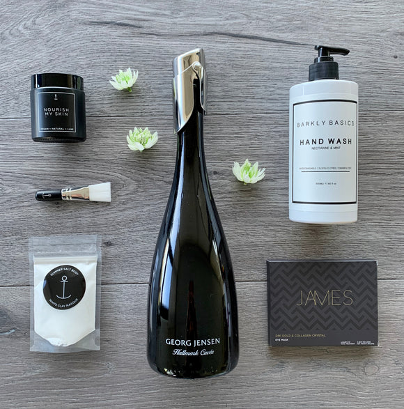 The Elegant Escape Champagne and Pamper Hamper
