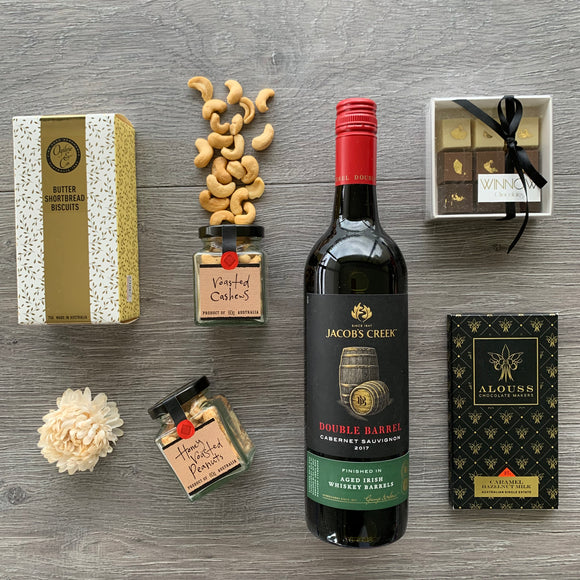 Indulgence Red Wine Hamper