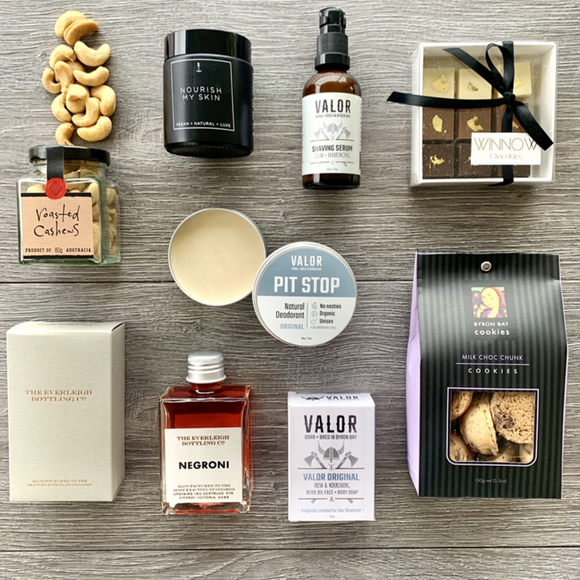 Shave & Savor Men's Gift Hamper