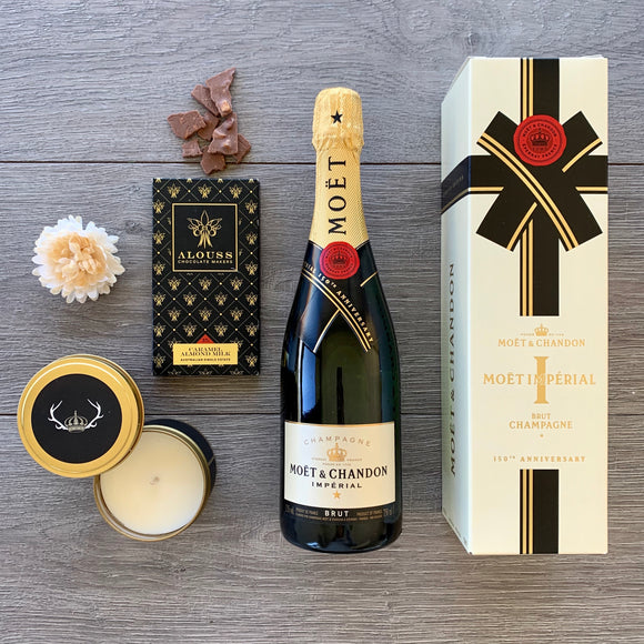 Champagne Gift Hamper - The Hamper Collective Australia