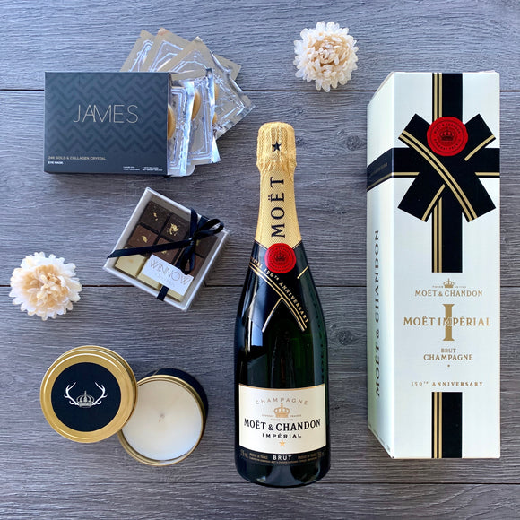 Moet Indulgence Gift Hamper - The Hamper Collective Australia