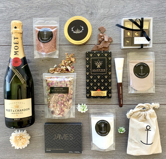Moet Staycation Premium Champagne Gift Hamper