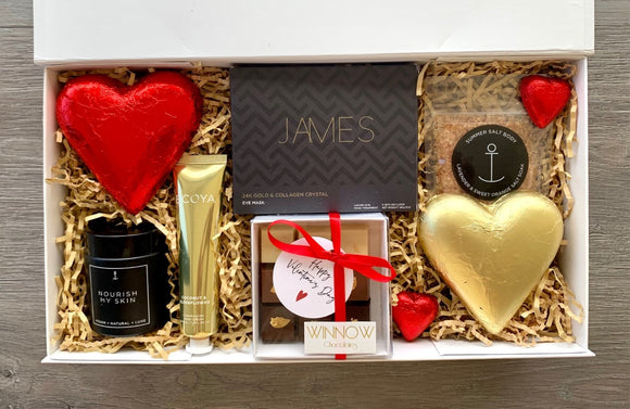 A Little Pampering Valentines Day Hamper