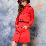 HEE GRAND 2017 Fashion Slim 2 Pieces Trench Coats
