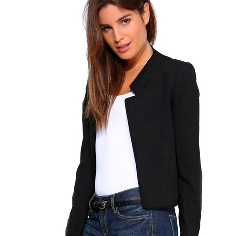 2017 Spring Autumn Women Thin Jacket